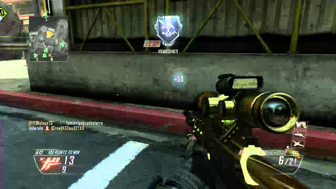 Black ops 2 ballista gold