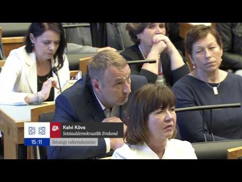 Riigikogu istung, 12. juuni 2017