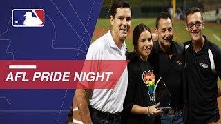 Arizona Fall League holds its 1st Pride Night
