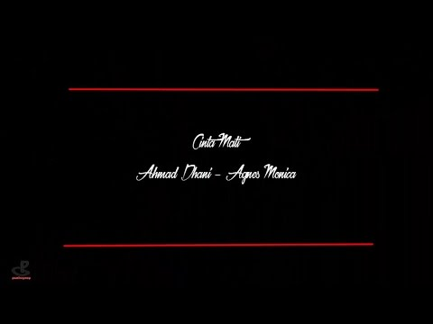 Karaoke No Vocal - Cinta Mati -  Agnes - Dhani