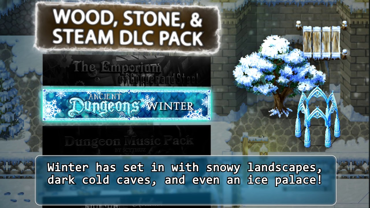 Wood Stone and Steam DLC Pack