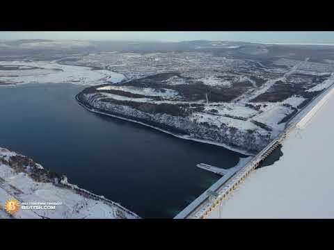Братск - панорама с высоты птичьего полета Bratsk.com