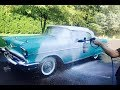 1957 Chevy Bel Air Full Foam Wash | Auto Fanatic