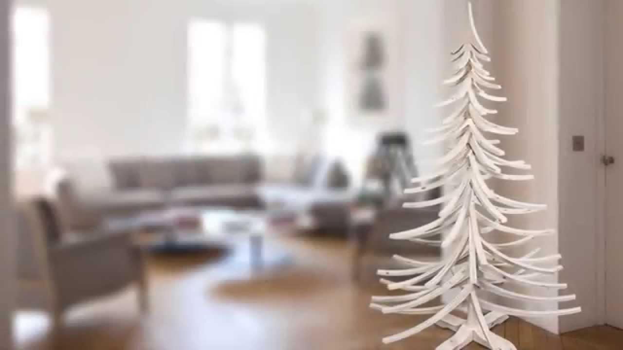 diy monter un sapin en bois naturel youtube. Black Bedroom Furniture Sets. Home Design Ideas