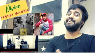 DIVINE - TEESRI MANZIL REACTION (Prod. by Phenom) | #KatReactTrain Reacts | #GullyGang