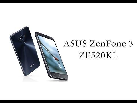 ASUS ZenFone 3 ZE520KL. Распаковка. Первые впечатления.