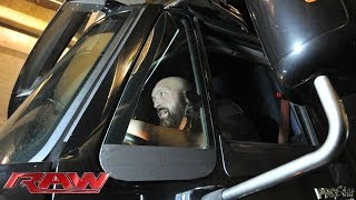 Big Show crashes into the Raw arena in a semi-truck: Raw, Oct. 21, 2013