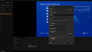 GC553 Live Gamer Ultra test with PS4 PRO