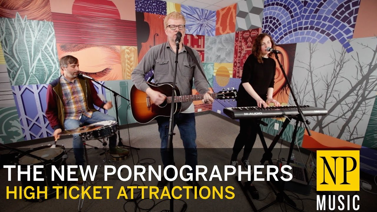 The New Pornographers perform 'High Ticket Attractions' for NP Music