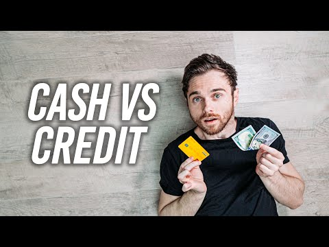 Cash Vs Credit – Which Is Better?