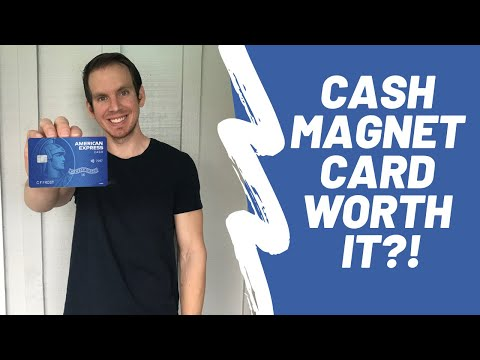 American Express Cash Magnet Card Review 2020 (Good Cash Back Beginner Credit Card?)