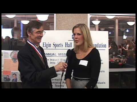 Elgin Sports Hall of Fame Foundation - OFFICIAL VIDEO - Leslie Schock 2014 Interview