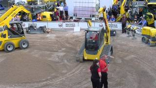 Wacker Neuson demos new SW 28 skid steer, ST 35 CTL