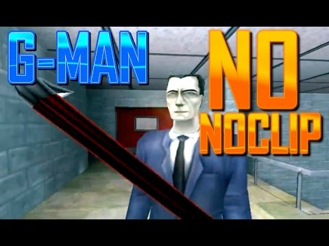 Half-Life 1 Curiosidad - GMan Glitch (Sin Noclip)