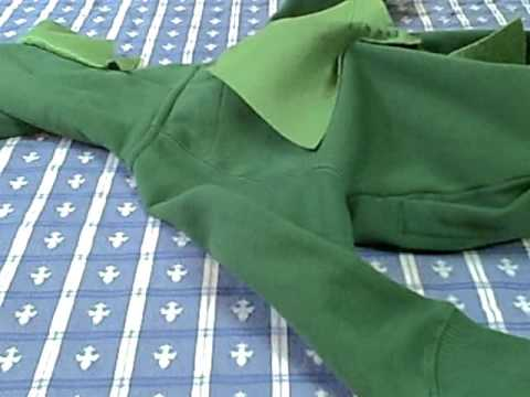 How To Sew Spikes On Dinosaur Costume Youtube