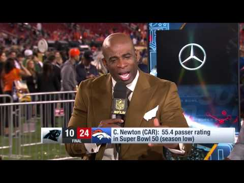 Deion Sanders On Cam Newton's Post Game Reaction, 'You Can't Do That'