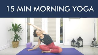 15 MIN MORNING YOGA WITH ABBIE - MINDFIT YOGA