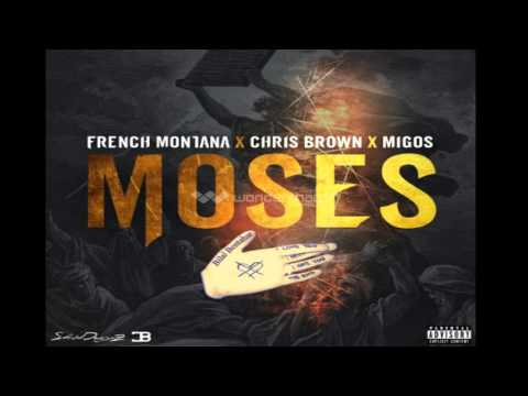 French Montana - Moses ft. Chris Brown, Migos 2016  (Audio)