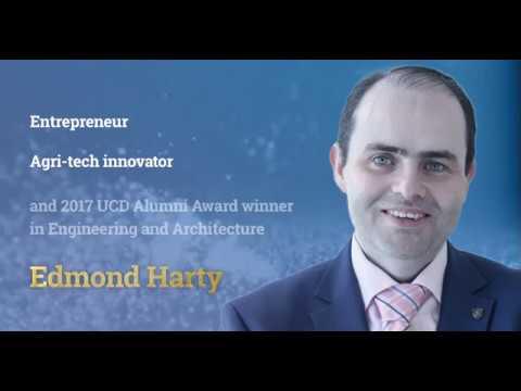 UCD Alumni Awardee Prof Edmond Harty