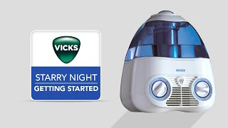 Vicks Starry Night Cool Mist Humidifier V3700 - Getting Started