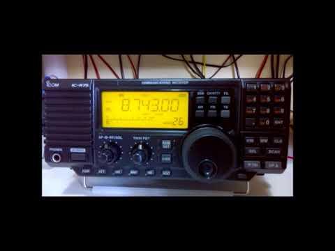 8743 kHz Bangkok Meteorological Radio, Bangkok - Thailandia