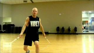 Bullwhip Cracking: Double Whip Moves for Crime Fighters