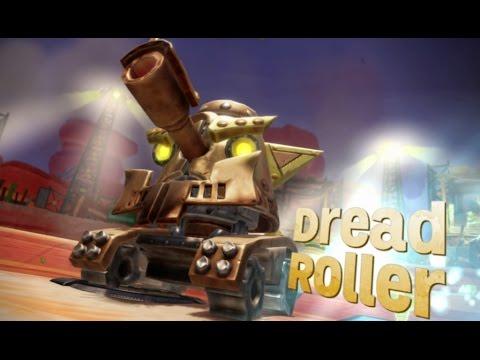 Skylanders Superchargers (Wii U) Walkthrough Part 13 - Ridepocalypse Derby (2 Player)