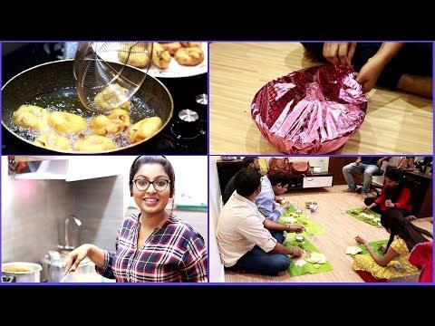 இப்படி தான் என்னுடைய Get together இருந்தது\Surprise gift\South Indian Veg Meal Prepartion\Fun games