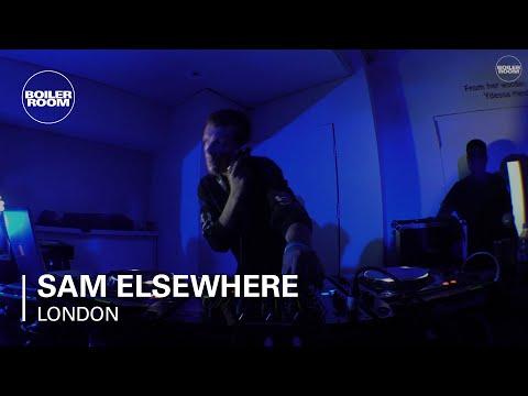 Sam Elsewhere ICA x Boiler Room London Live Performance