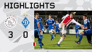 Highlights Ajax O19 - Dynamo Kiev O19 (Youth League)