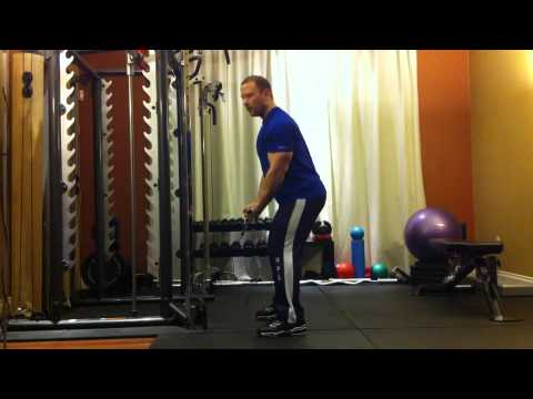 Montreal Private Trainer - Standing Reverse Grip Low Cable Row