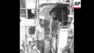 SYND 11 9 67 BIAFRAN SHIP DESTROYED BY NIGERIAN NAVY