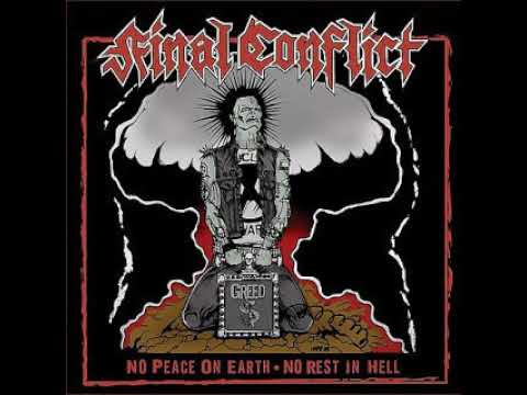 Final Conflict No Peace on Earth No Rest In Hell CD