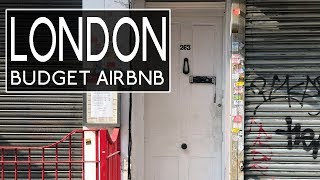 Gambar cover LONDON BUDGET AIRBNB TOUR | CAMDEN TOWN ON LESS THAN $100