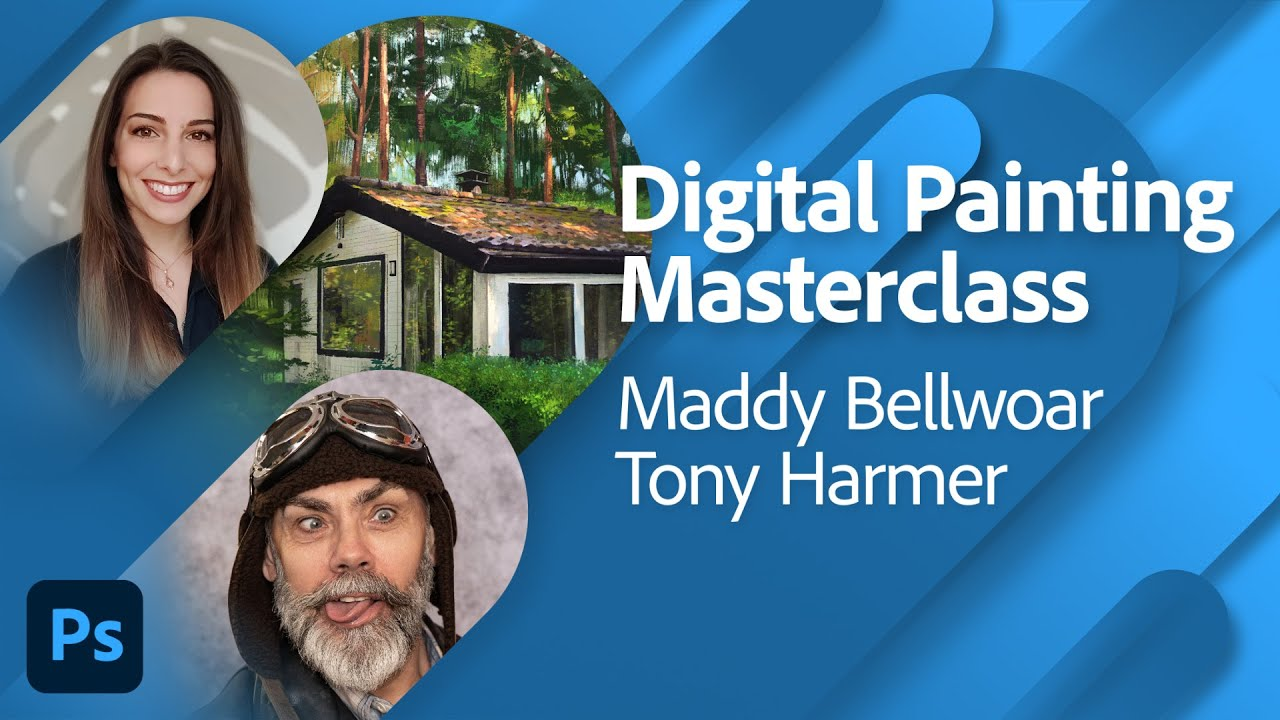 Digital Painting Masterclass with Maddy Bellwoar and Tony Harmer | Adobe Live