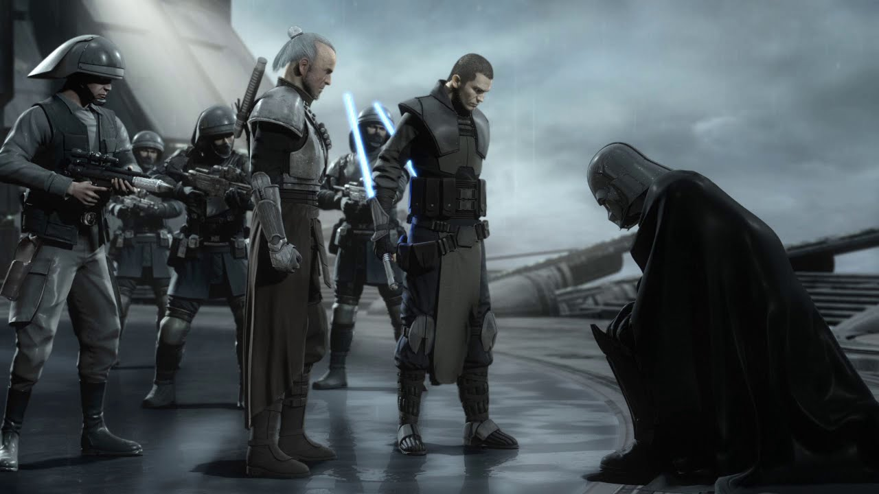 Star Wars The Force Unleashed 2 Starkiller Vs Darth Vader