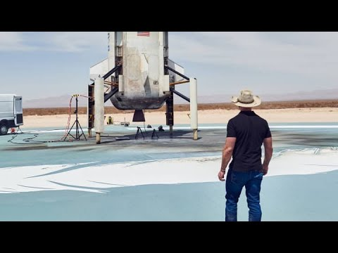 Jeff Bezos Says He Will Go to Space