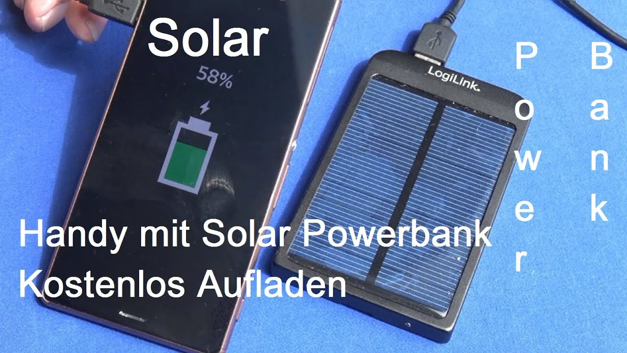 solar powerbank kostenlos akkus aufladen review youtube. Black Bedroom Furniture Sets. Home Design Ideas