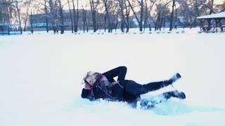 Школьный видеоклип 11 класса Зимняя прогулка г.Днепр