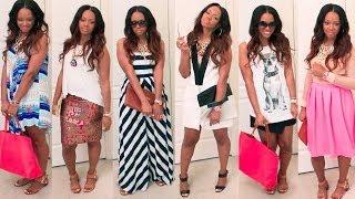 2014 Summer Look Book! 30 Plus Fashion w/ Lulus.com |Haul | BorderHammer