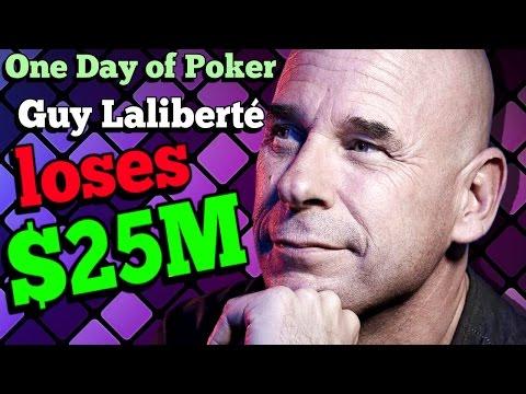 The Days that saw Guy Laliberté lose $25M