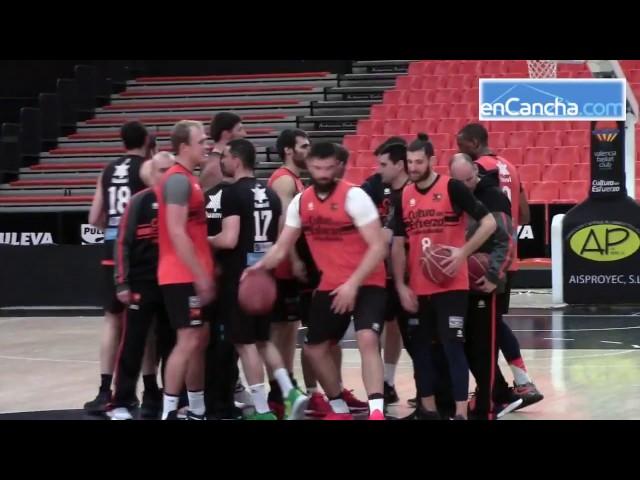 Pedro Martinez prev�a Valencia Basket vs. Tecnyconta Zaragoza
