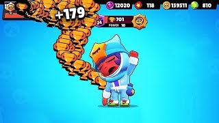 NEW SANDY = OP! 700+ TROPHIES in BrawlStars