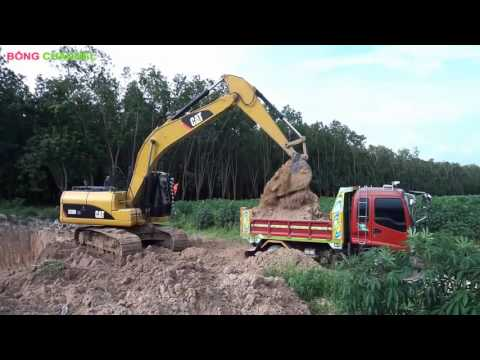 Máy Xúc Xúc Đất ✿ Ô tô tải Chở Đất ♬ Nhạc thiếu nhi remix sôi động cho bé