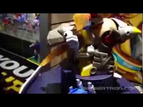 Toy Fair 2014\/Hasbro Media Day Transformers Mr. Potato Head Product Display
