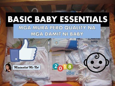 #1 Newborn Baby Essentials - TIPID / MURA QUALITY Clothing - SM - LAZADA - Philippines