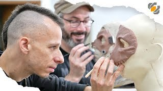 Sculpting with Monster Clay! - Mask MADNESS Part 1