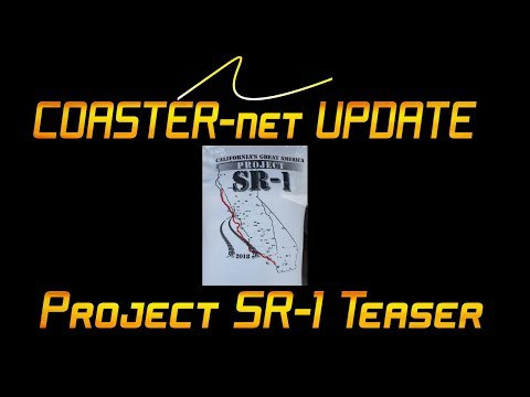 New Project SR-1 2018 Teaser from California's Great America - COASTER-net Update