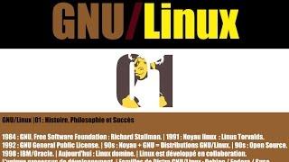 GNU/Linux |01 : Histoire, Philosophie et Succès