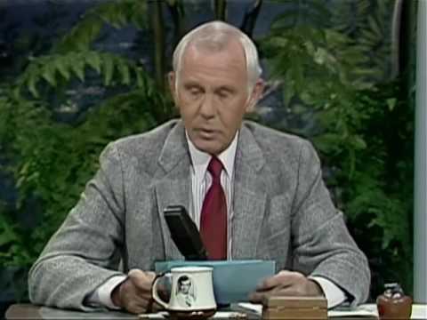 Johnny Carson 1985